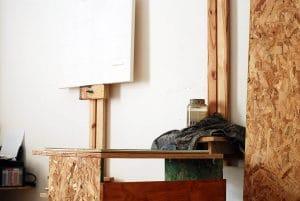 Atelier toile vierge, Maxime Bally.